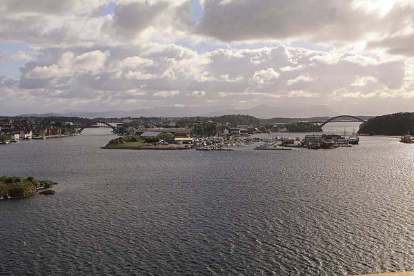 Photograph - Approaching Stavanger by Tony Murtagh