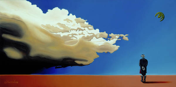 Painting - Approaching Storm by Paxton Mobley