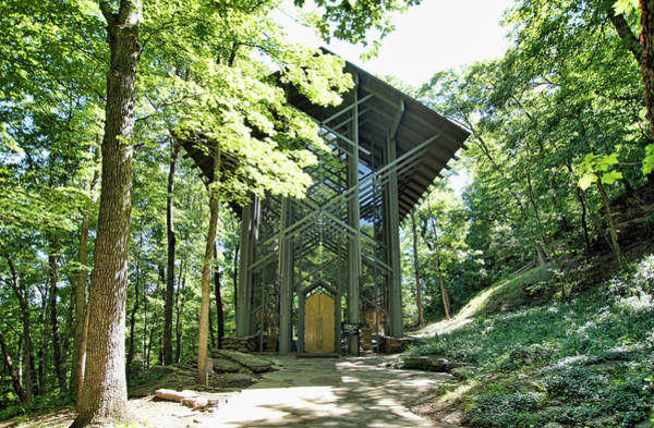 Photograph - Approaching Thorncrown Chapel by Cricket Hackmann