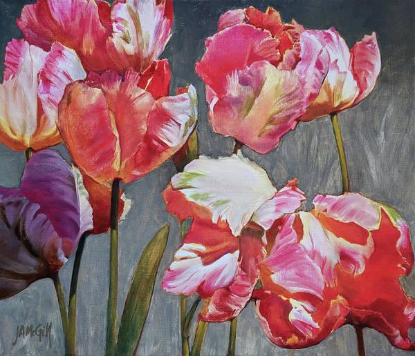 Skagit Valley Painting - Apricot Jam by Jennifer Ann McGill