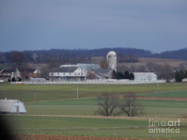 Photograph - April Amish Homestead Vista by Christine Clark