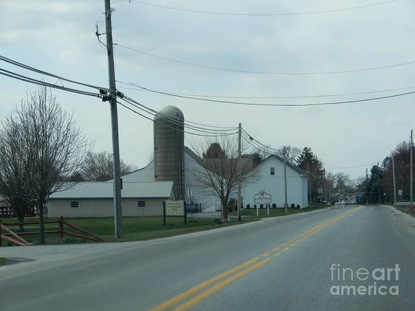 Photograph - April Country Road by Christine Clark