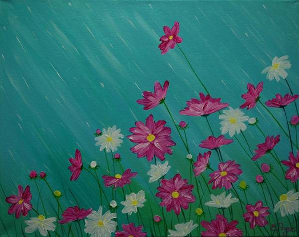 Painting - April Showers by Emily Page