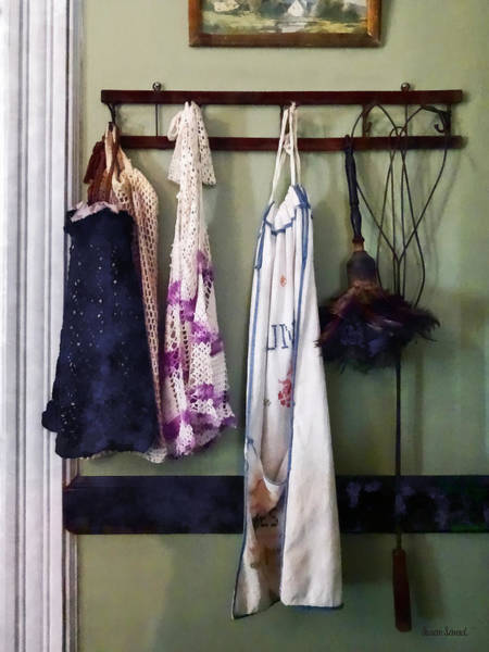 Photograph - Aprons And Feather Duster by Susan Savad