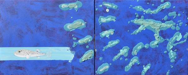 Painting - Aqua Circus by Eduard Meinema