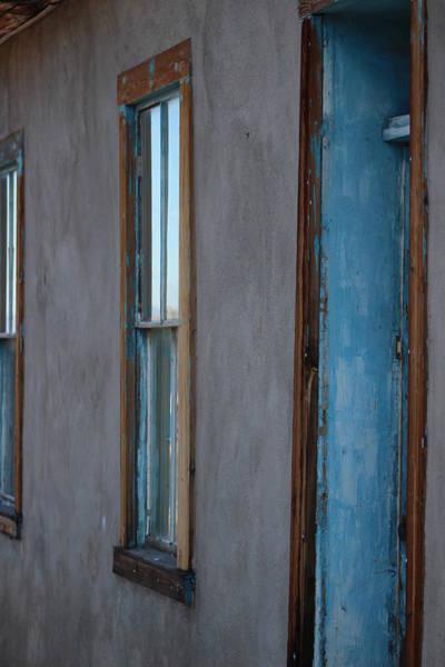 Photograph - Aqua Doorway by Colleen Cornelius