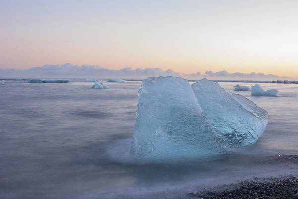 Photograph - Aqua Ice by Brad Scott