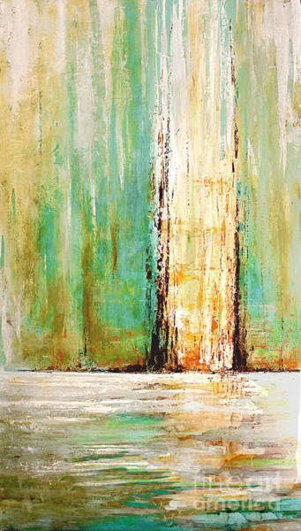 Painting - Aqua Port by Kaata    Mrachek