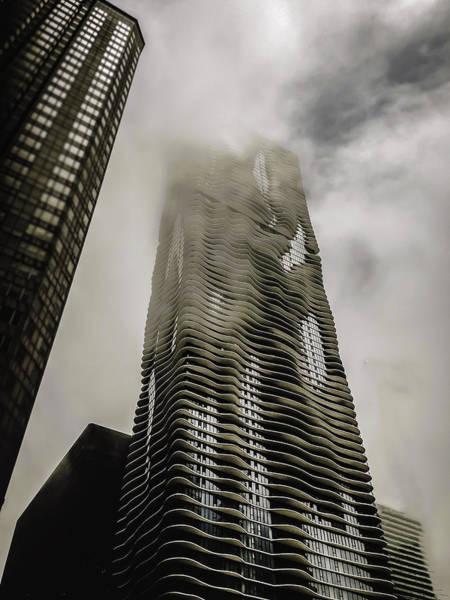 Condos Photograph - Aqua Skyscraper by Britten Adams