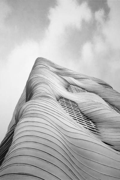 Modern Architecture Photograph - Aqua Tower by Scott Norris