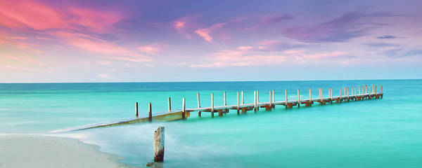 Vibrant Color Wall Art - Photograph - Aqua Waters  by Az Jackson