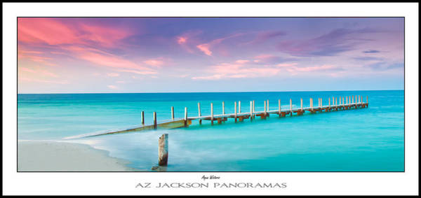 Indian Photograph - Aqua Waters Poster Print by Az Jackson