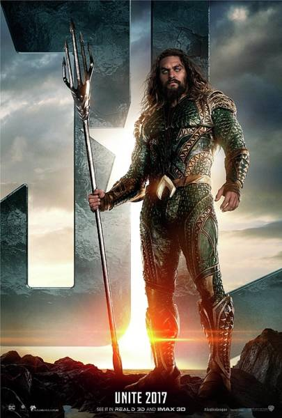Digital Paint Digital Art - Aquaman - Justice League by Geek N Rock