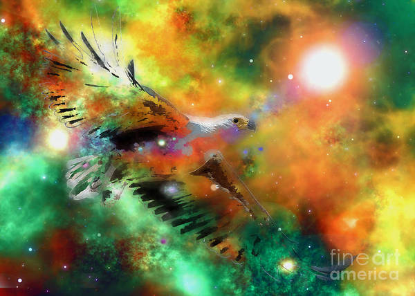 Digital Art - Aquila 2016 by Kathryn Strick