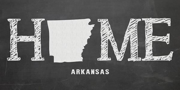 Arkansas Mixed Media - Ar Home by Nancy Ingersoll
