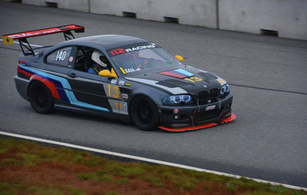 Whiskey Hill Wall Art - Photograph - Ar Racing Bimmer by Mike Martin
