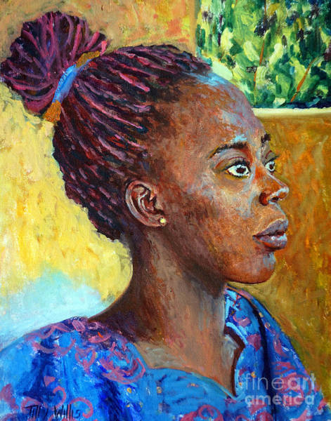 Plaits Painting - Ara by Tilly Willis