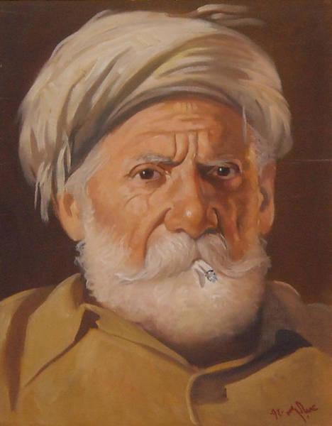Baghdad Painting - Arab - Harap by Iraqi Signature