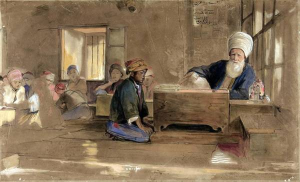 Painting - Arab School  by Celestial Images