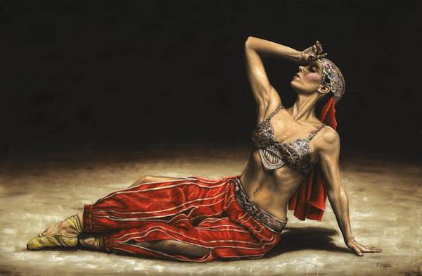 Wall Art - Painting - Arabian Coffee Awakes by Richard Young