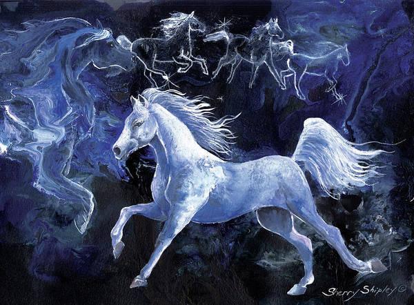 Painting - Arabian Night by Sherry Shipley