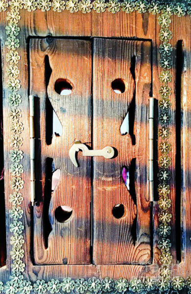 Wall Art - Photograph - Arabian Shutter by Tom Gowanlock