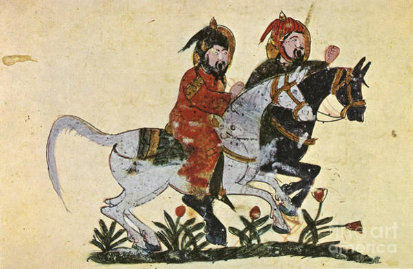Painting - Arabic Horseman 1210 by Granger