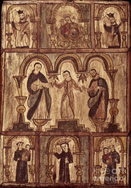 Photograph - Aragon: Jesus & Disciples by Granger