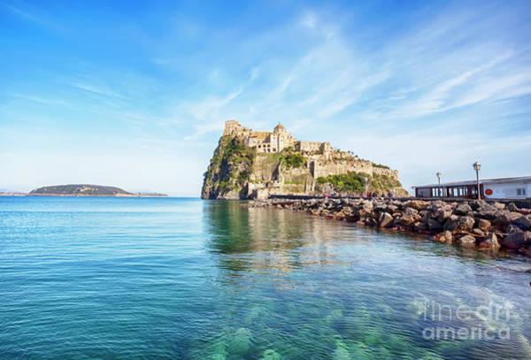 Photograph - Aragonese Castle On Ischia by Ariadna De Raadt
