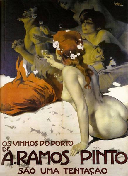 Painting - A.ramos Pinto by Leopoldo Metlicovitz
