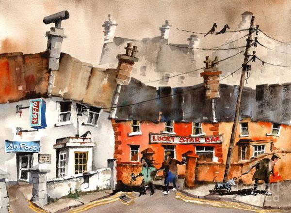Painting - Aran Bygones 2 by Val Byrne