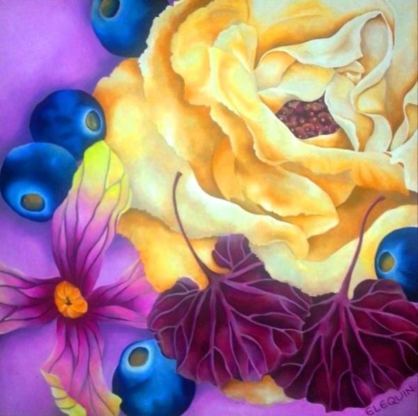 Wall Art - Painting - Arandoo by Elizabeth Elequin