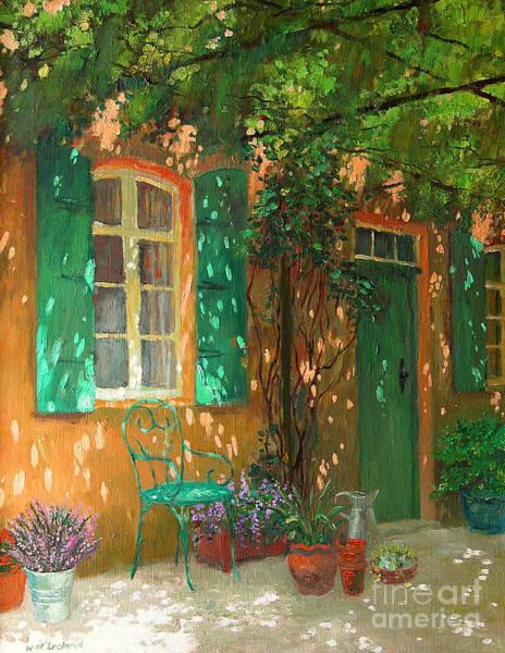 Dappled Light Painting - Arbour by William Ireland