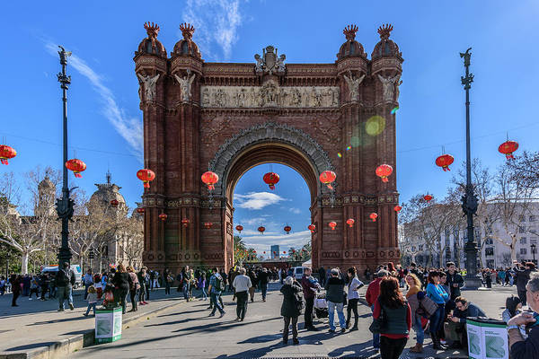 Photograph - Arc De Triomf De Barcelona by Randy Scherkenbach