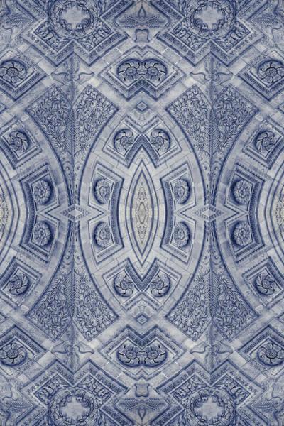 Photograph - Arc De Triomphe Du Carrosel Paris Kaleidoscope Vertical by Joan Carroll