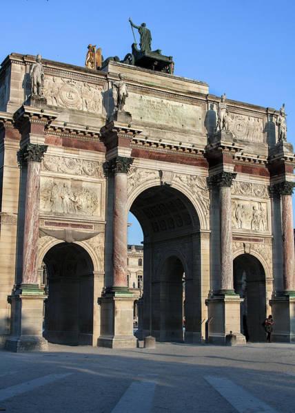 Photograph - Arc De Triomphe Du Carrousel  by Denise Dube