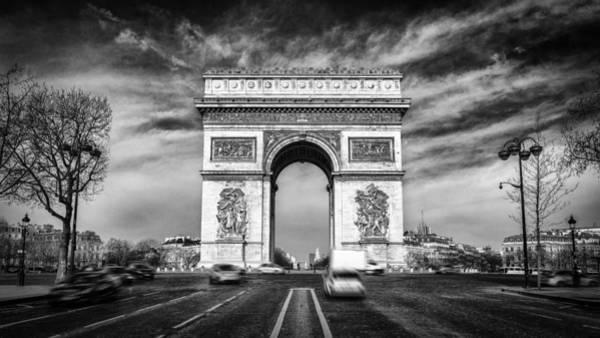 Photograph - Arc De Triomphe by James Billings