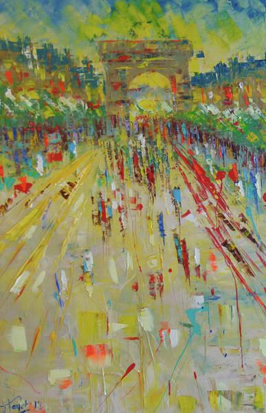 Painting - Arc De Triomphe Paris by Frederic Payet