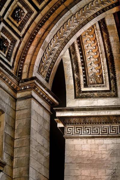 Digital Art - Arc De Triomphe by Pennie McCracken