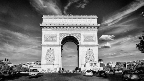 Wall Art - Photograph - Arc De Triomphe by Stephen Stookey