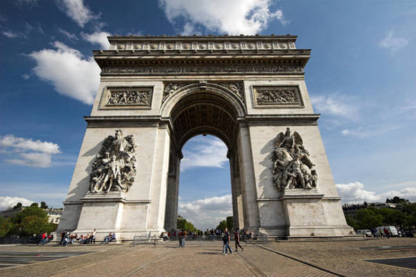 Photograph - Arc The Triomphe Paris by Pierre Leclerc Photography