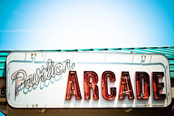 Word Play Photograph - Arcade by Colleen Kammerer