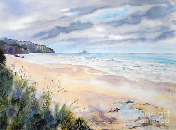 Painting - Arcadia Beach, Oregon by Diane Kirk
