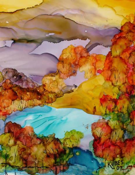 Wall Art - Mixed Media - Arcadia by Susan Kubes