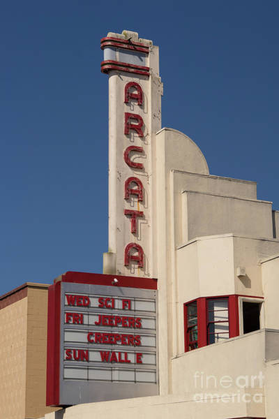 Photograph - Arcata Theater Arcata California Dsc5378 by Wingsdomain Art and Photography
