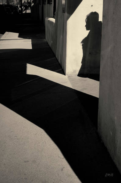 Photograph - Arch And Shadow Old Town Abq Toned by David Gordon