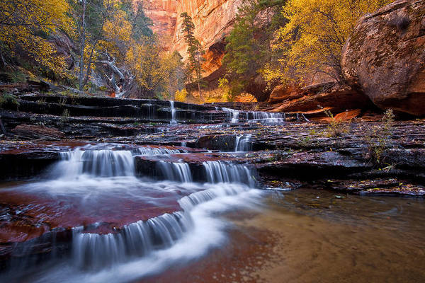 Wall Art - Photograph - Arch Angel Falls by Guy Schmickle