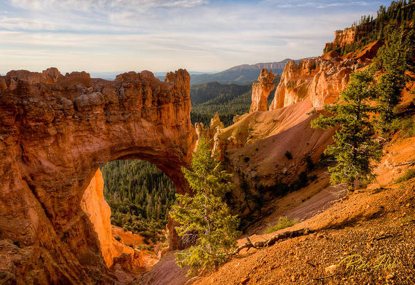 Photograph - Arch At Bryce by Rikk Flohr