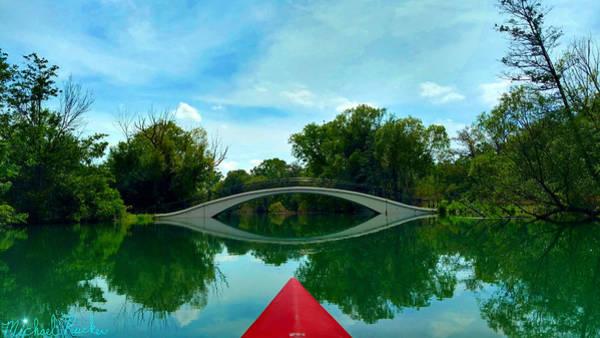 Michigan Wall Art - Photograph - Arch Bridge Over Canal by Michael Rucker