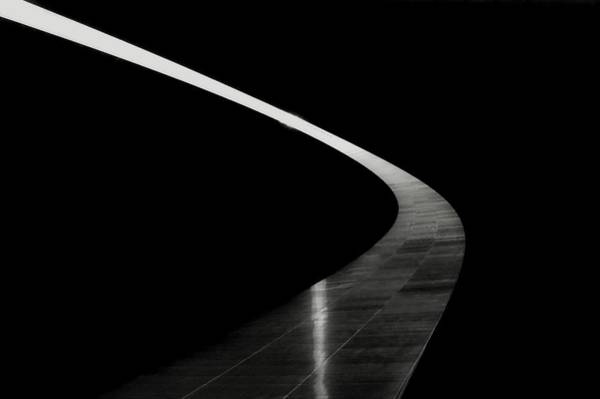 Photograph - Arch In Black And White by Kathy McCabe